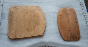 Cutting out padding