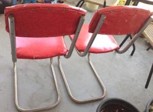Kitchen chairs backs