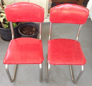 Kitchen chairs front