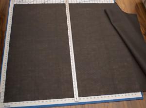Measuring dust cloth