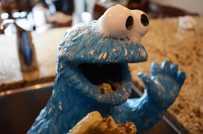 cookie-bath